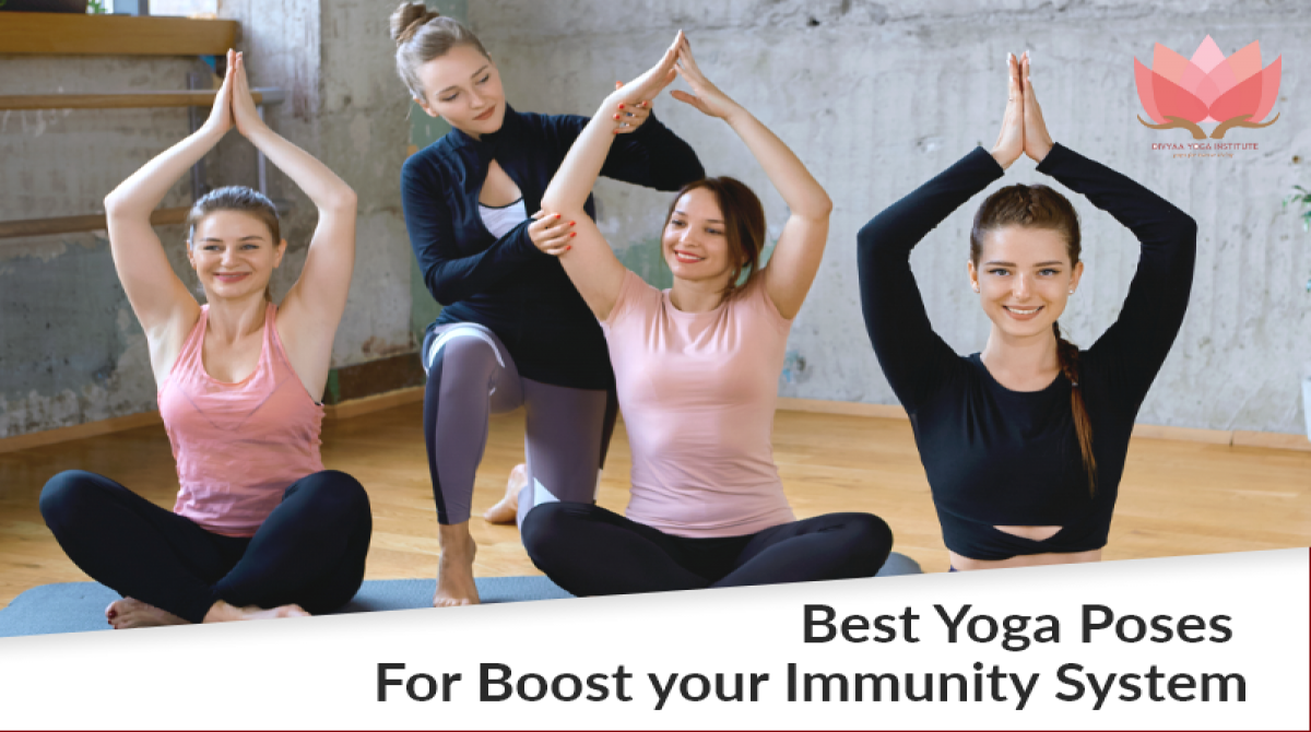 Best Yoga Poses for Boost your Immunity System